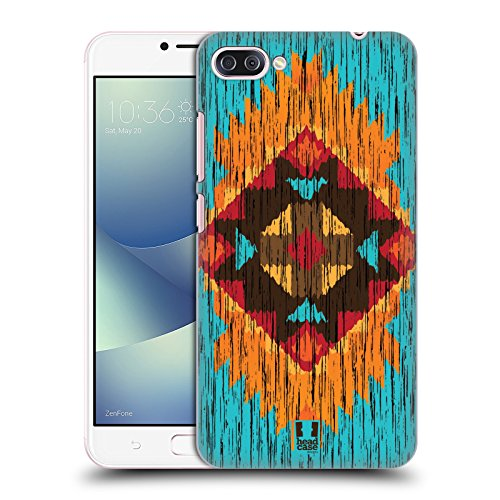 Head Case Designs Flamme Holz Tribal Muster Ruckseite Hülle für Zenfone 4 Max / Pro / ZC554KL
