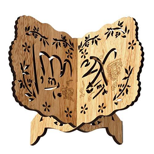 farmer-W Kuran Quran Koran Heiliges Buch Ständer Halter Holz Wenig Bairam Dekoration Eid Versorgung
