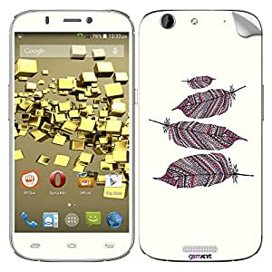 GsmKart MCG Mobile Skin for Micromax Canvas Gold (Canvas Gold-619)