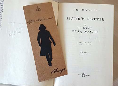 Segnalibro Harry Potter, Severus Piton, Always