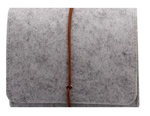 Filz Täschchen für Zubehör und Accessoires Tasche Hülle