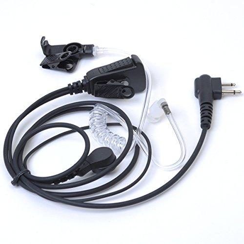 Funkgeräte Headset Ohrhörer mit Noise Cancelling mikrofon und PTT, Talkabout dual pin 2 way radio für TC-508 TC-505 TC-518 TC-700