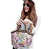 Gifts Flowers Food Beste Deals - Kolylong Fashion Portable Flower Lunch Bags Lunch Packet Lunch Food Storage Bags by Kolylong
