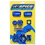 ABP KTM 15 BU - Apico Factory Bling Pack - KTM/Husqvarna XC-W125-150 17-18 EXC250/300 14-18 EXC-F250/350/450/500 14-18 (R) Blue