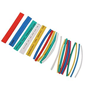 Fabulous Generic 20Pcs Pvc Heat Shrinkable Tubing Wire Cable Sleeve 4 Sizes 5 Wiring Digital Resources Kookcompassionincorg