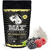 MAX MUSKEL MÜSLI Protein Müsli Low Carb ohne Zucker-Zusatz & Nüsse - Müsli wenig Kohlenhydrate viel Eiweiss Sportler