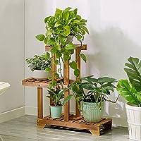 4e8c829d3c44 Porte Plante Charbon de bois solide grillé couleur créative multifonctions fleur  supports salon balcon multi-