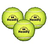 Silvers-Headly-Light-Cricket-Tennis-Ball-Pack-of-3-Yellow