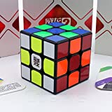 MoYu *Weilong GTS v2* - 3x3 Professional & Competition SpeedCube Brain Game Puzzle by Cubik's - BLACK immagine