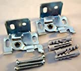 2x Träger für Aluminium-Jalousien mit 25mm Oberschienen