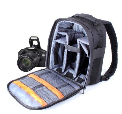 DURAGADGET 14'' Custodia imbottita Zaino per gamma Canon EOS e PowerShot