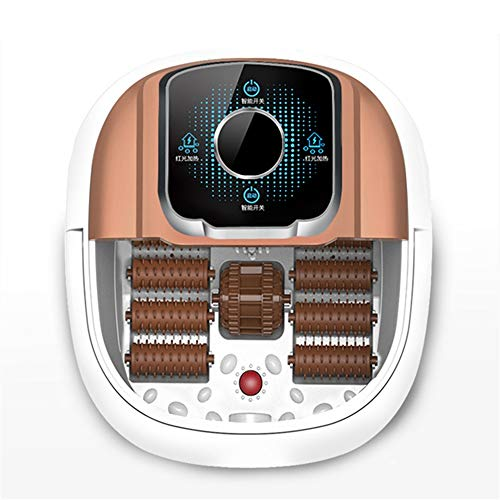 GUANHONG Fußwanne automatische elektrische Heizung Massage Fußwärmer Fußbad Fuß Barrel Fuß Pediküre Maschine nach Hause (Pediküre Pool)