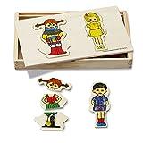 Pippi Langstrumpf 44.3750.00 - Verkleidungsbox aus Holz