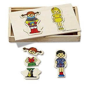 Pippi Langstrumpf - Puzzle de Madera Pippi Calzaslargas