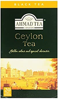Ahmad Tea Ceylon Tea, 20-Count Boxes (Pack of 6)