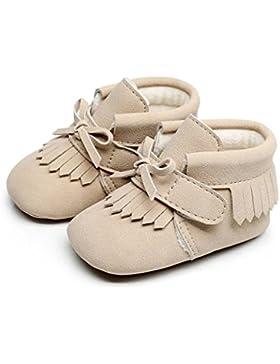AMUSTER Baby Schuhe AMUSTER Babyschuhe Mädchen Jungen Neugeborene Weiche Rutschsicheren Baby Kinder Schuhe Winter...