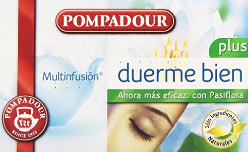 Pompadour Té Duerme Bien Plus Multifusión - 20 Bolsitas