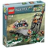 LEGO - 8632 - Jeu de construction - Agents - Mission 2: La chasse dans les marais