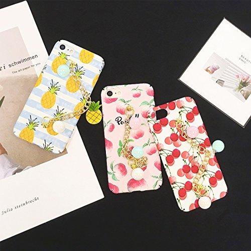 Phone case & Hülle Für iPhone 6 / 6s, Sommer Obst Muster Acryl Schutzhülle mit Kette ( SKU : Ip6g2278c ) Ip6g2278c