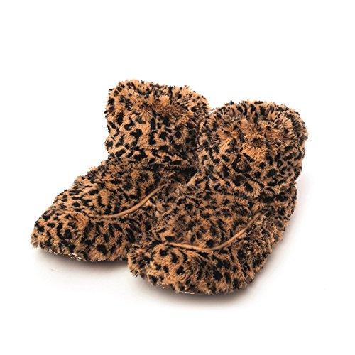 Intelex–Peluche de lavanda aromática Tawny Fur Botas para microondas