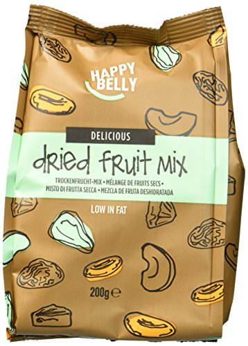Amazon Marke - Happy Belly Trockenfrucht Mix, 7x200 g -