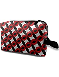 Peru Shine Pattern Toiletry Bag Multifunction Cosmetic Bag Portable Makeup Bag Waterproof Travel Hanging