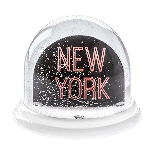 koziol New York Traumkugel Maxi, Plastik, Weiß mit Weiß, 12.7 x 12.7 x 10.3 cm
