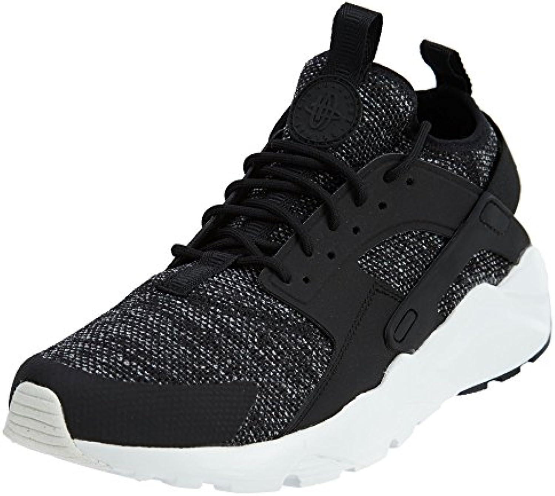 Nike Herrenschuhe Air Huarache Run Ultra BR Schwarz Weiß
