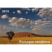 Paysages namibiens / FR-Version (Calendrier mural 2015 DIN A2 horizontal) (Calvendo Nature)