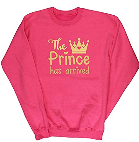 Costume Prince Childrens Fantaisie - HippoWarehouse - Sweat-shirt - Fille - rose