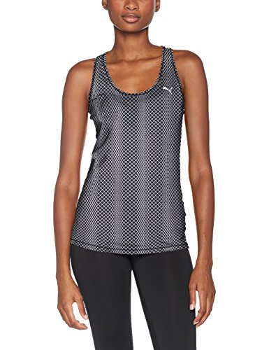 Camiseta de tirantes estampada para mujer Puma. , Otoño-invierno, mujer, color Black Meta Print, tamaño small