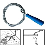 Best Drain Cleaners - Style Eva Snake Spring Pipe Rod Sink Drain Review
