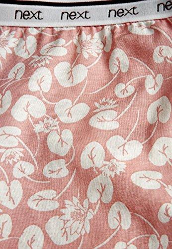 next Donna Completo Pigiama Con Shorts In Jersey Rosa
