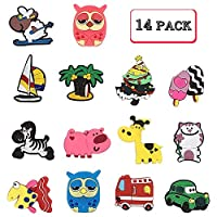 whatUneed Fridge Magnets for Kids, 28 Pcs Catoon Animals Plant Car Magnet Set Refrigerator Magnets for Whiteboard Educational Home Classroom Kitchen and Office (28 PACK)