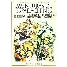 """Triple Pack """"Aventuras De Espadachines""""2:El Capitan+El Milagro De Los Lobos+El Intrepido Latour"""