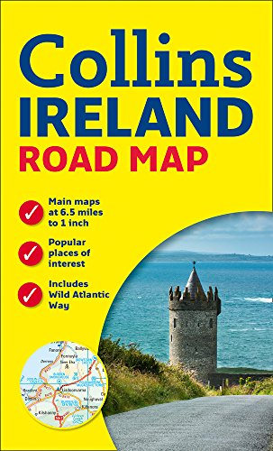 Ireland Road Map (Road Maps) por Collins Maps