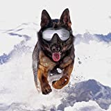 Sue Supply Gafas de sol para perro, resistentes al viento, a prueba de sol, protección UV, gafas de...