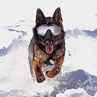 Sue Supply Gafas de sol para perro, resistentes al viento, a prueba de sol, protección UV, gafas de protección para mascotas, tamaño grande