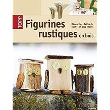 Figurines rustiques en bois
