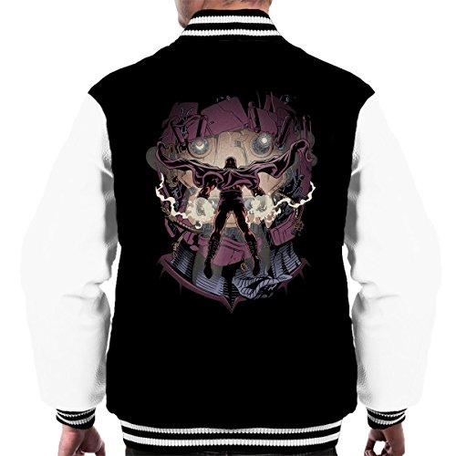 Cloud City 7 X Men Magneto Magnetic Confrontation Men's Varsity Jacket