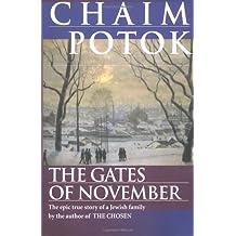 The Gates of November by Chaim Potok (1997-09-08)