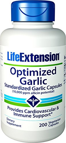 Life Extension, Optimized Garlic (Knoblauch), 200 Veg. Kapseln