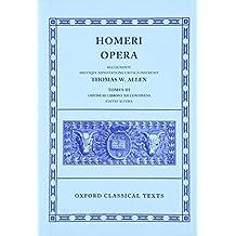 Homer Opera Vol. III. Odyssey (Books I-XII) (Oxford Classical Texts)