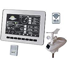 Stazione meteorologica wireless professionale, HP1000, display a colori e analisi