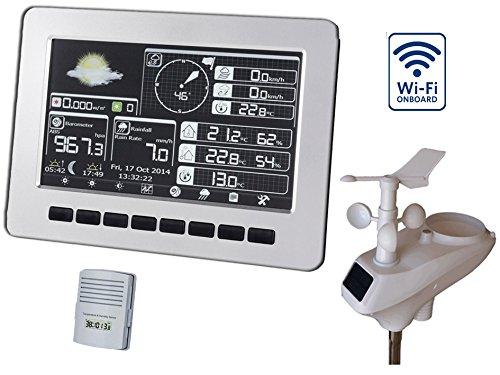 Foggit HP1000 Estación meteorológica inalámbrica - pantalla a color profesional