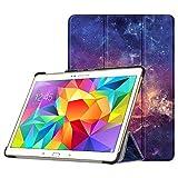 Fintie Hülle für Samsung Galaxy Tab S 10.5 T800 T805 (10,5 Zoll) Tablet-PC - Ultra Schlank superleicht Ständer SlimShell Cover Schutzhülle Etui Tasche mit Auto Schlaf/Wach Funktion, Die Galaxie