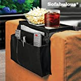 FAUX Organizer Sofa-Tablett und Range Fernbedienung Sofabulous