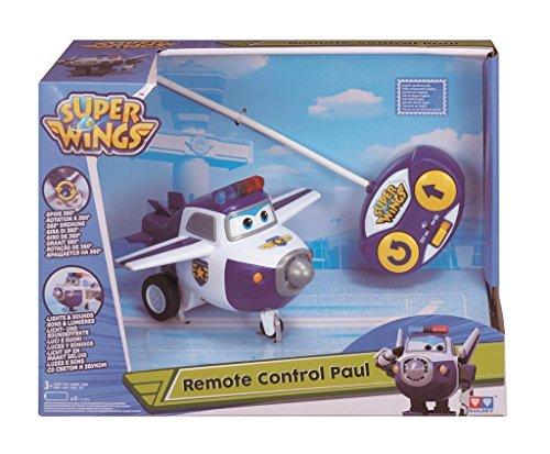 Preisvergleich Produktbild Super Wings Mini Transform a Bots Flugzeug Paul mit Fernsteuerung Flugzeuge