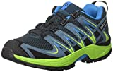 Salomon Kinder XA Pro 3D Trailrunning/Outdoor-Schuhe, Blau (Reflecting Pond/Lime Green/Hawaiian Surf), Gr. 35