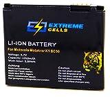 Extremecells® Akku für Motorola MOTOKRZR K1 MOTOKRZR K2 ROKR EM35 MOTOROKR Z6 ersetzt BC50 Accu Batterie